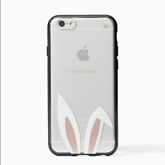 new style 96f55 63363 KATE SPADE ♠️ Bunny Case iPhone Plus 7/8 Case